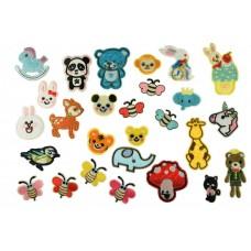 grote dieren patch set 27 stuks