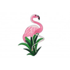 grote flamingo patch