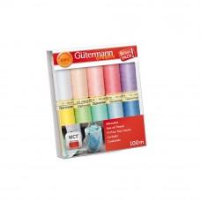 gutermann garen set 10 kleuren type 2
