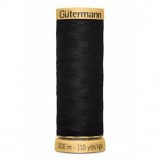 Gütermann C NE 50 100 meter zwart 5201