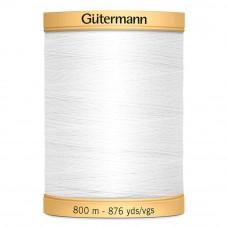 Gütermann C NE 50 800 meter wit 5709