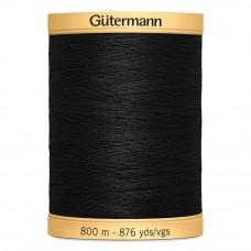 Gütermann C NE 50 800 meter zwart 5201
