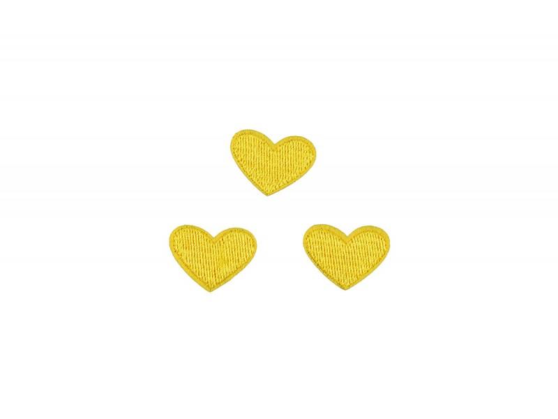 hartjes patch set geel 3 stuks