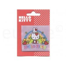 HELLO KITTY applicatie aardbeien