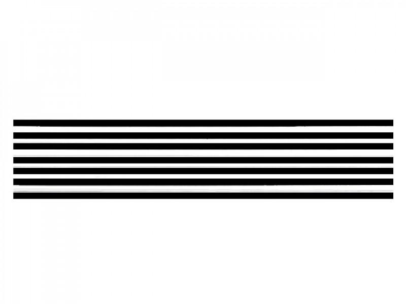 hoeden elastiek zwart (5 meter)
