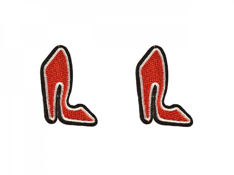 Hoge hak schoenen applicatie (2 st)