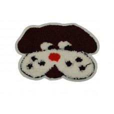 hond applicatie badstof 15 x 11 cm