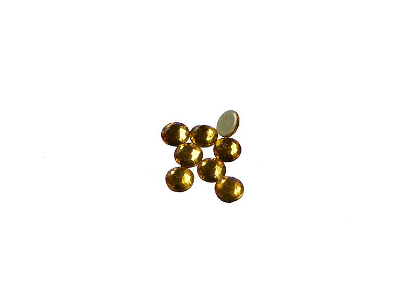 hot-fix steentjes crystal goud SS20 hoge kwaliteit (144 stuks)