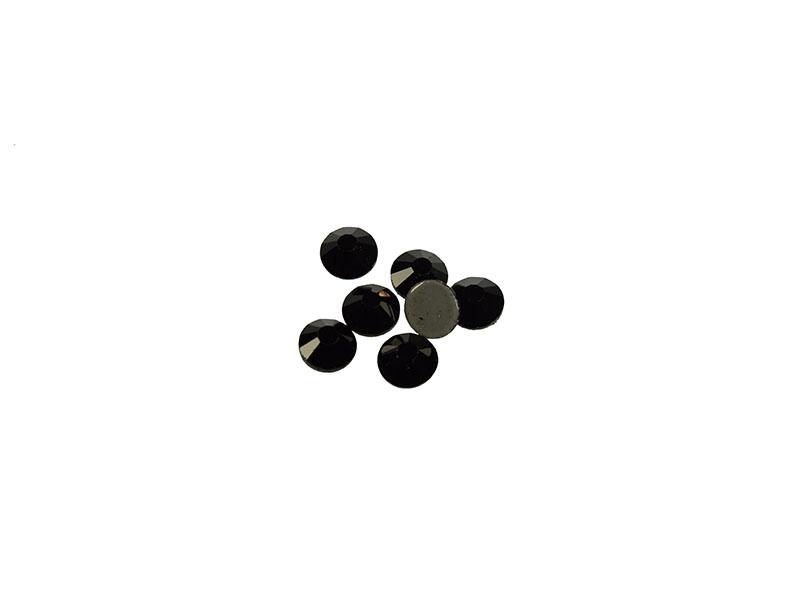hot-fix steentjes crystal zwart SS10 hoge kwaliteit (288 stuks)