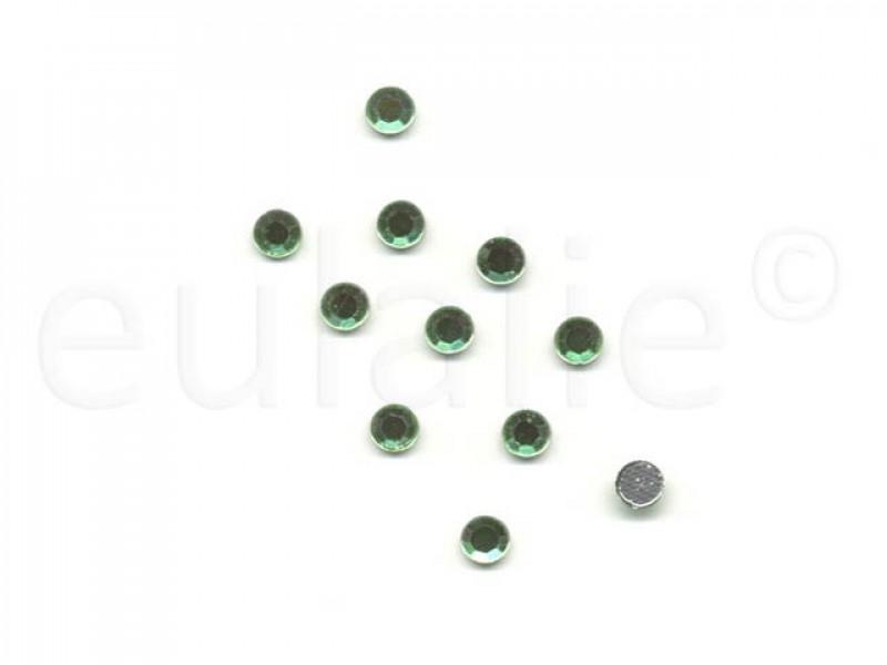 hot-fix steentjes groen 5 mm