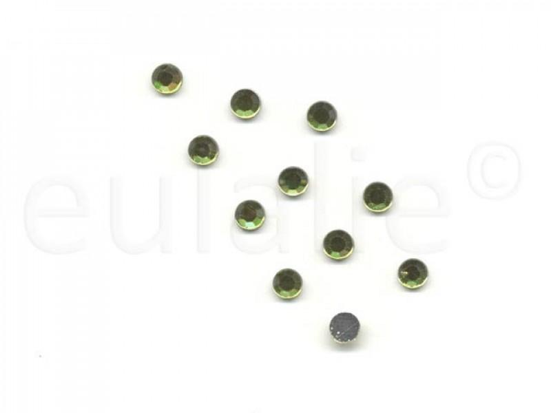 hot-fix steentjes lime 5 mm