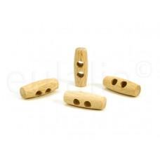 houten knoop 3 cm