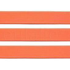 katoen tassenband 3 cm fluor oranje