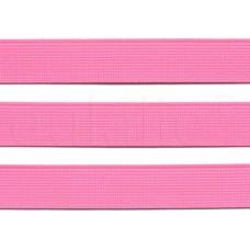katoen tassenband 3 cm fluor roze