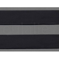 keperband 4 cm zwart