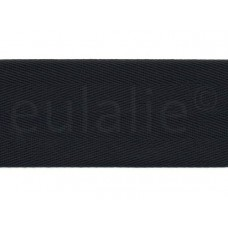 keperband 8 cm zwart