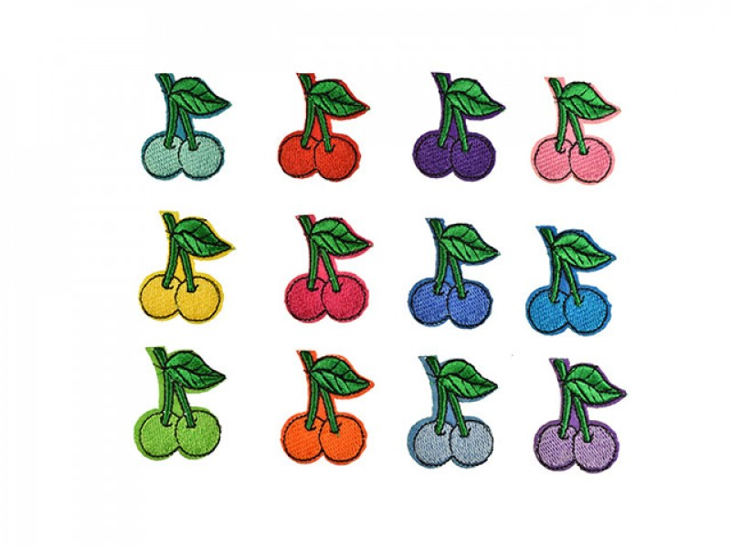 kersen applicatie set 12 kleuren