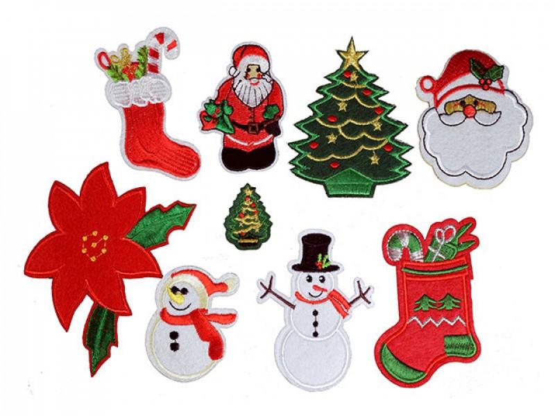 kerst set 9 patches