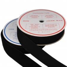 klittenband naaibaar haak en lus 38mm zwart