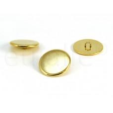 knoop blazer goud 2.3 cm goud