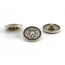 knoop wapen zilver 2.3cm