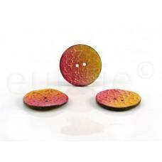 kokosnoot knoop geel/fuchsia