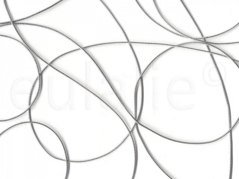 koord metallic zilver (10 meter)