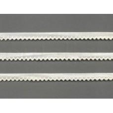 lingerie elastiek ecru (3 meter)