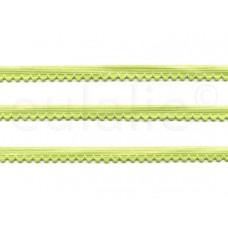 lingerie elastiek neon geel (3 meter)