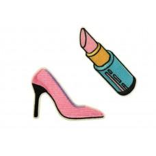 lipstick pumps patch set