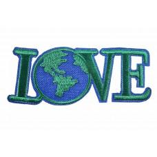 Love Globe patch