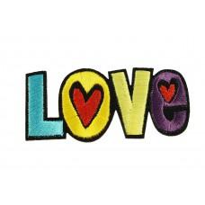 Love hartjes patch