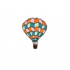 luchtballon applicatie 7x5.5 cm