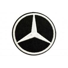 Mercedes embleem opstrijkbaar