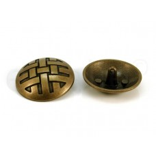 metalen bolvormige knoop 3 cm