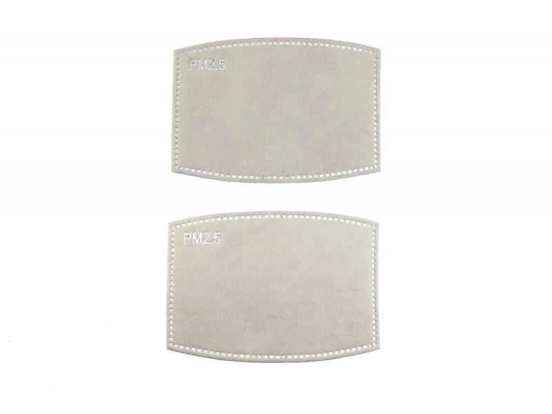 mondkapje filters 5 laags 2 stuks