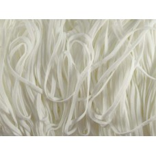 mondkapjes elastiek 4 mm wit 620 meter nylon spandex