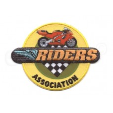 motor riders applicatie geel