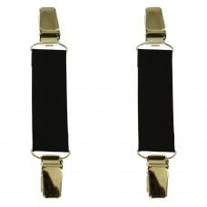 mouwophouders zwart zilver clips
