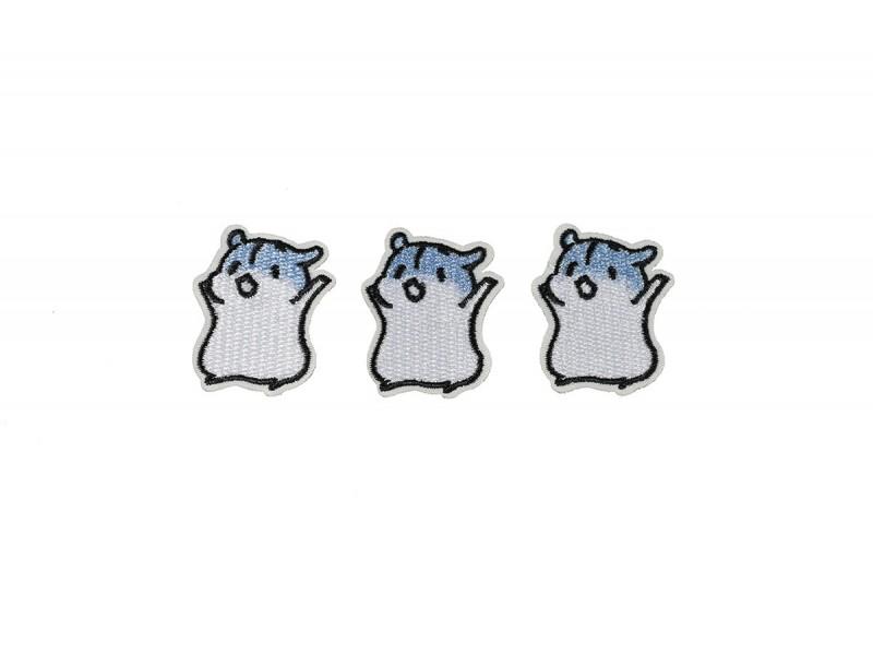 muisjes patch licht blauw