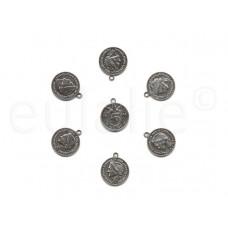 munten bedels (1 stuk)