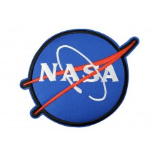 NASA patch XL 24x18 cm