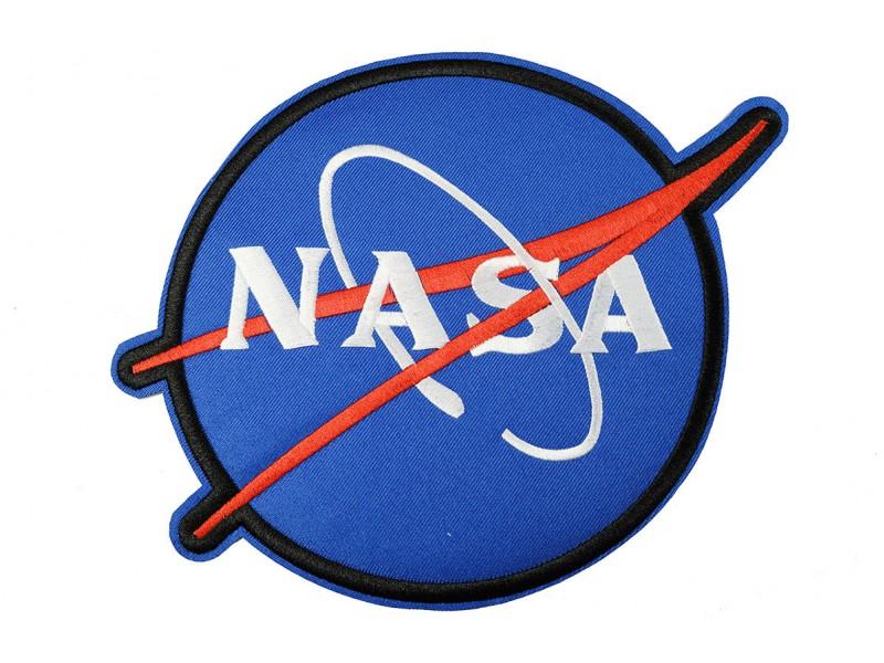 NASA patch XL 24x18 cm