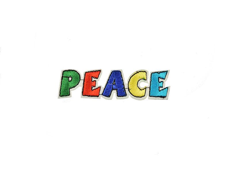 opstrijkbare applicatie peace