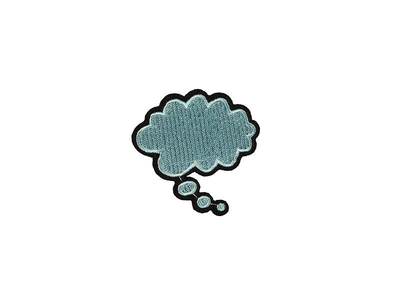 opstrijkbare applicatie wolk