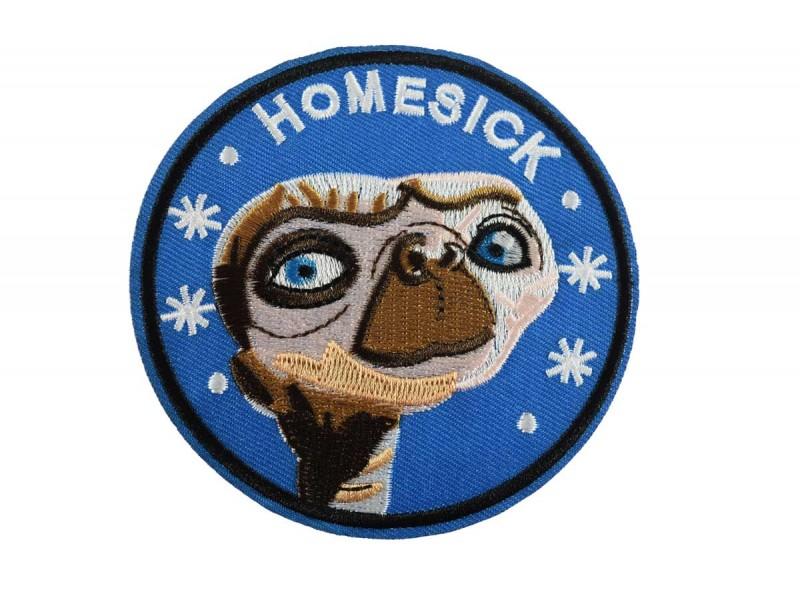opstrijkbare E.T. homesick patch