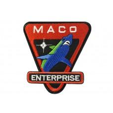 opstrijkbare embleem MACO enterprise