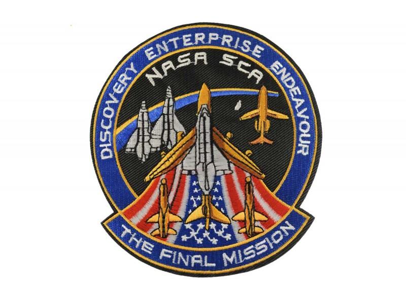 opstrijkbare embleem Nasa Discovery Enterprise Endeavour