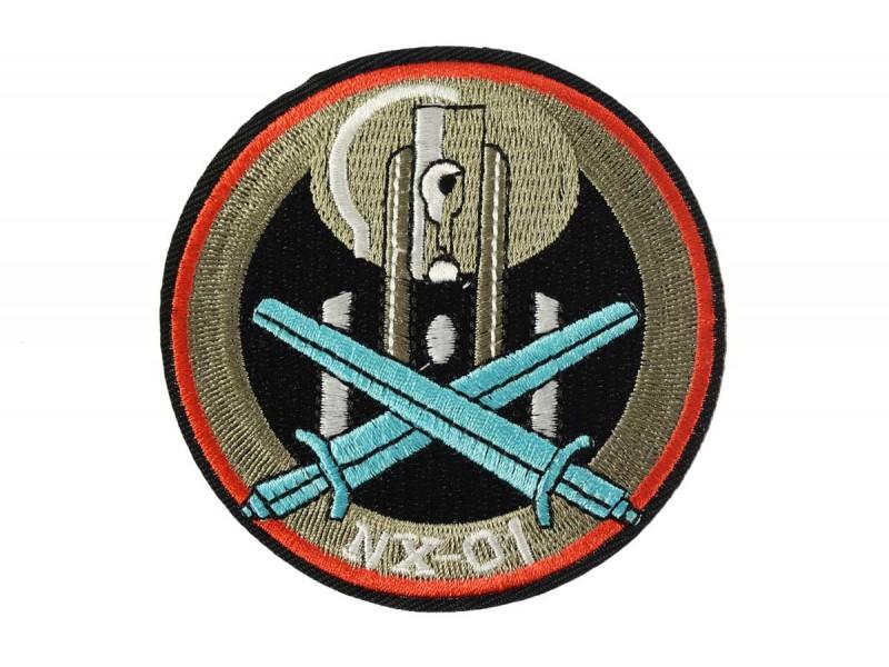 opstrijkbare embleem star trek NX-01 Enterprise