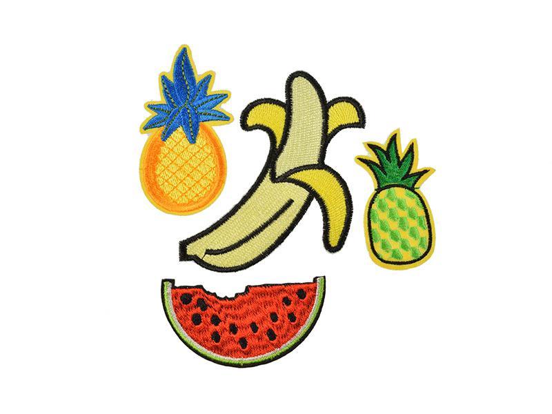 opstrijkbare fruit set patches 4 soorten